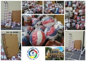 donacija sportske opreme